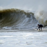 Doomsday Swell. New Jersey, Surfing photo