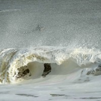 Januart Nor'easter, Manasquan Inlet. New Jersey, Surfing photo