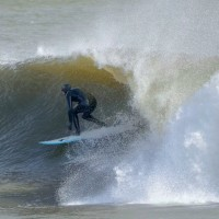 Januart Nor'easter. New Jersey, Surfing photo