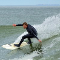 Nor'easter, Pier Village. New Jersey, Surfing photo