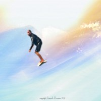 CLOUD SURFING. Oahu, surfing photo