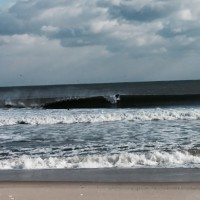thowin heavy but still make-able. New Jersey, surfing photo