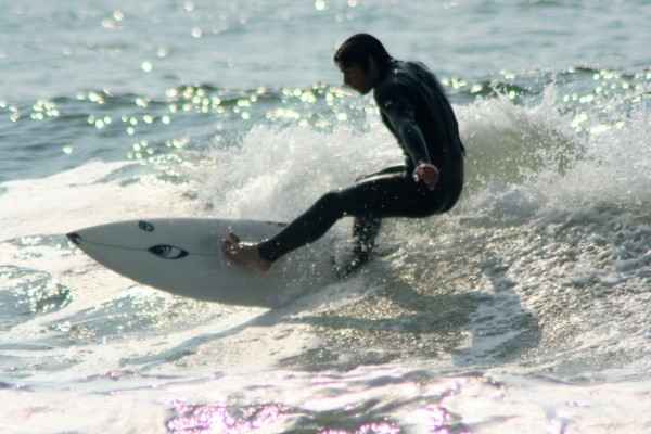 Chris Stelman 1. New Jersey, surfing photo