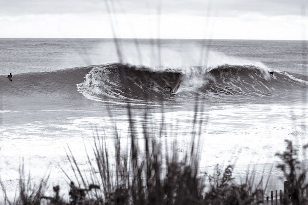 Winter. Delmarva, surfing photo