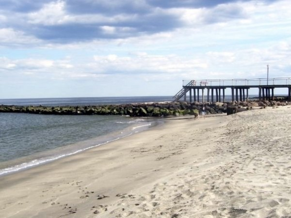 Deal Pier. New Jersey, Scenic photo