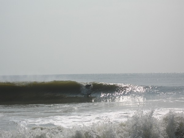 16th St. Making The Drop. Delmarva, surfing photo