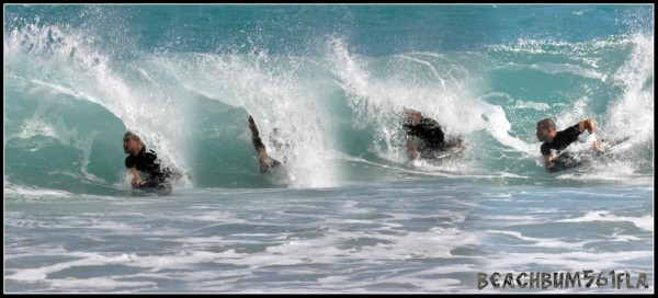 Bbr Barrel Sequence Bodyboarder Barrel Sequence - Southside