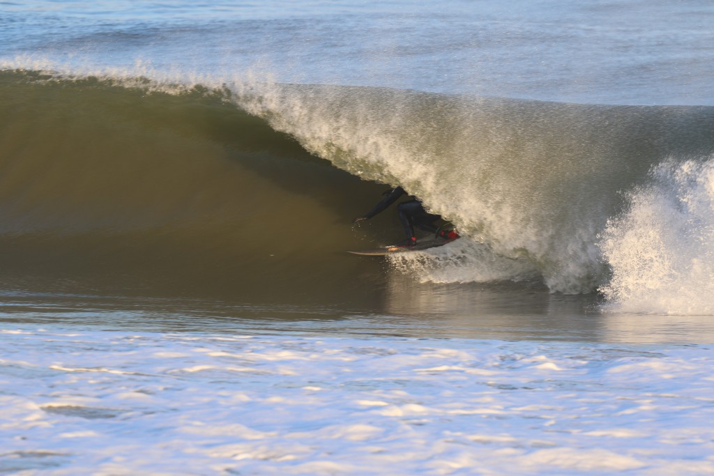 Under the Curtain. New Jersey, Surfing photo