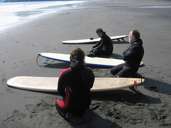Surfing Kodiak, Alaska talking swell. United States, Surfing photo