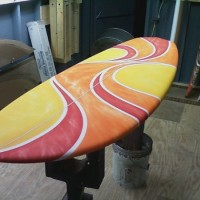 "Phill Taylor Phil Taylor 5'9"" x 21"" x 3"" Nickle