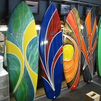 Phil Taylor Handcrafted Surfboards. Delmarva, Surf Art photo