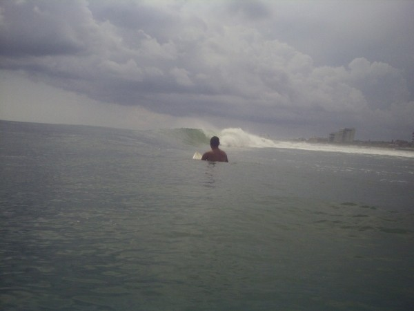 Dan In Nsb Doin a little mindsurfin