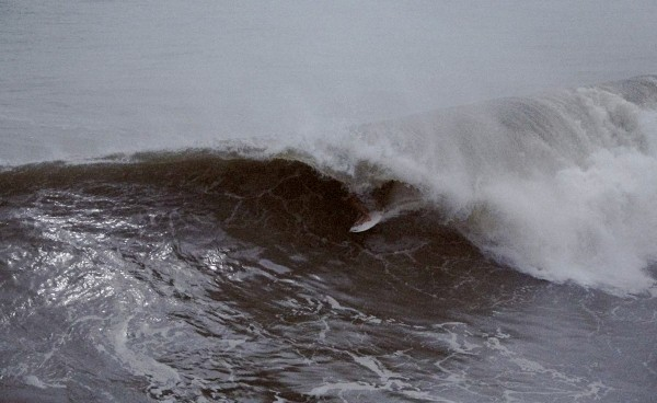 Hurricane 2010 Nc shot from pier. Virginia Beach / OBX, Surfing photo
