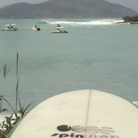 Right Hander Bvi. British Virgin Islands, Surfing photo