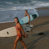 Summer Swell Smiles. Virginia Beach / OBX, Scenic photo