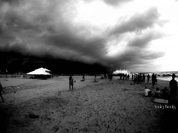 The end. Point Pleasant Beach, NJ Heaven and hell.