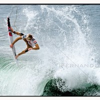 Kolohe Andino professional surfer participating at