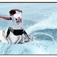 Taj Burrow professional surfer participating at the