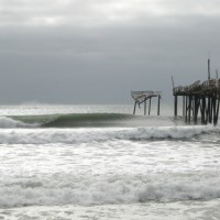 Frisco Pier Winter 2010. Southern NC, Empty Wave photo
