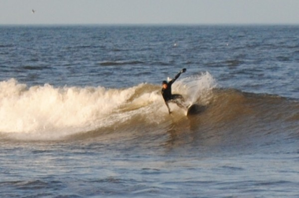 First Street Va/ March Swell. Virginia Beach / OBX, Surfing photo