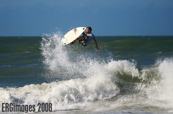 Ike From Ami 9/13/08. West Florida, surfing photo