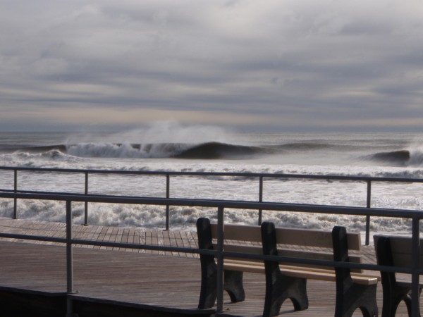 1.18.2010 NJ. New Jersey, Empty Wave photo