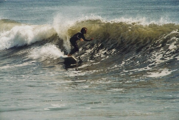 Left. New Jersey, surfing photo