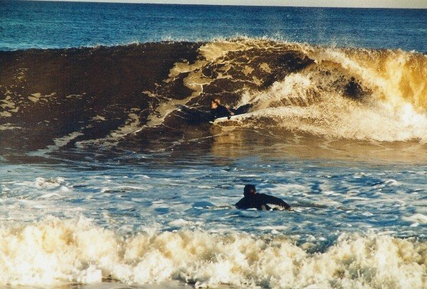 Spongin. New Jersey, surfing photo