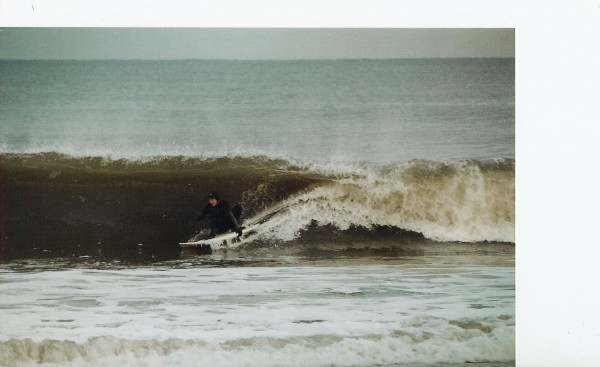 Surfing December little monmouth. New Jersey, surfing photo