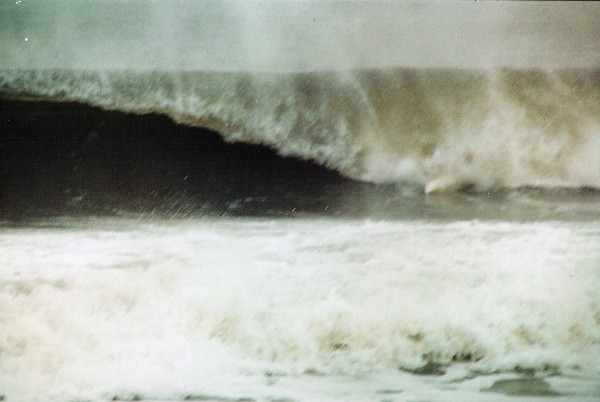 Dec 21st ouch!. New Jersey, surfing photo