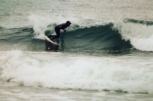 Monmouth Beach cutback. New Jersey, Surfing photo