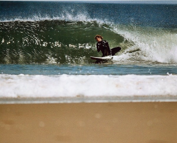 Monmouth Beach barrel. New Jersey, Surfing photo