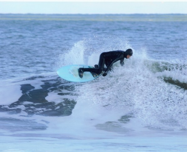 Christmas Swell sequence 1. New Jersey, Surfing photo