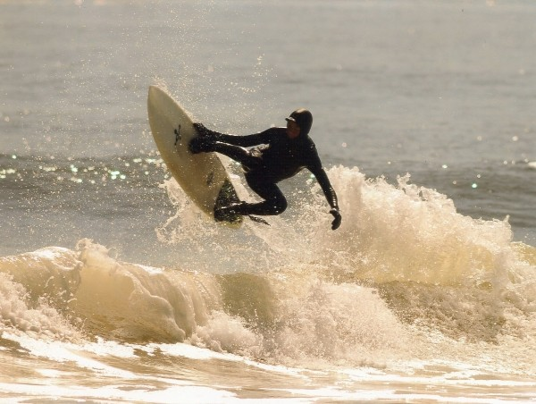 Monmouth Beach Spring 10 surf. New Jersey, Surfing photo