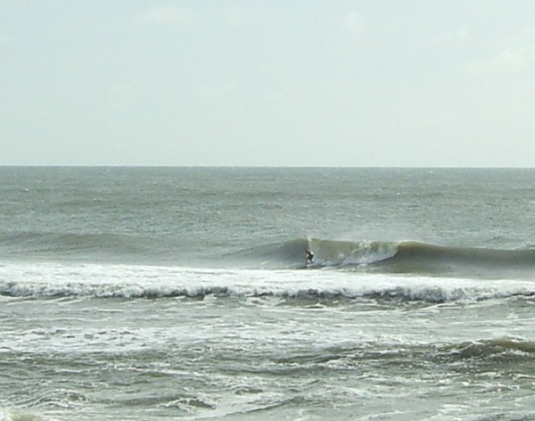 Swell From Hanna Wilmington. Southern NC, surfing photo