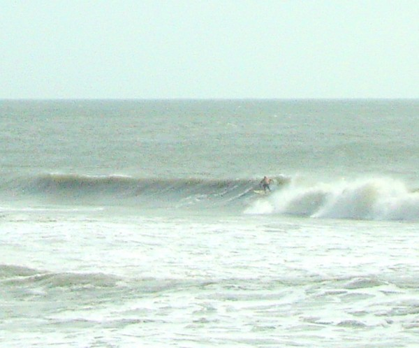 Hanna Swell Wilmington. Southern NC, surfing photo
