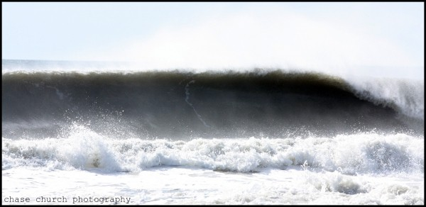 Oc Wall. Delmarva, Empty Wave photo