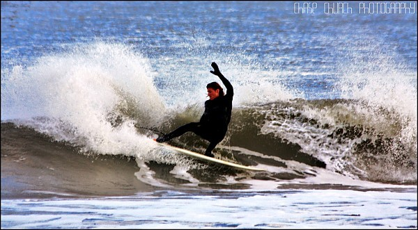 Frank B. OCMD. Delmarva, Surfing photo