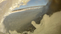 Outer Banks Barrel Go Pro shot