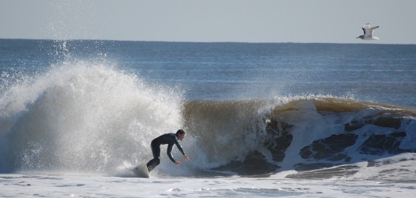 Lbi October 26th low tide. New Jersey, surfing photo