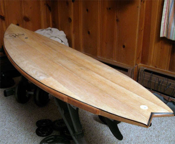 "New Willey Board 6'2"" x 19"" x 2 1/4"""