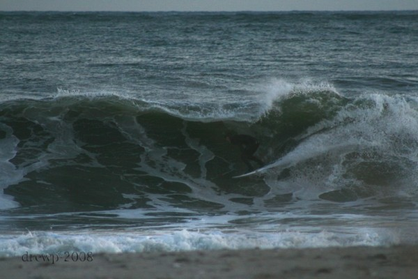 Late November Billy Scott. New Jersey, surfing photo