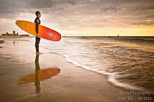 Reflections of the surf.. New Jersey, Surf Art photo