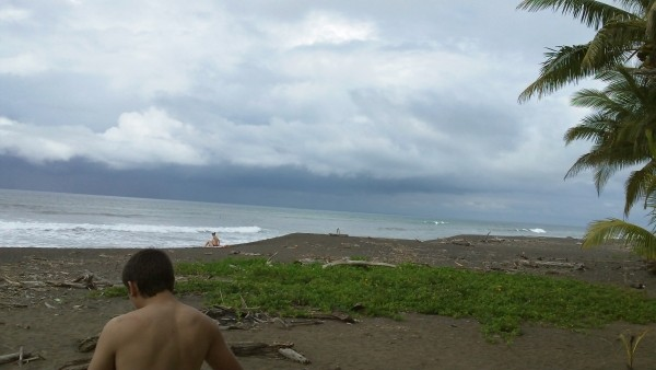 Jaco Beach, Costa Rica. Scenic photo
