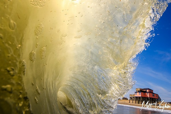 pelicans perch, kitty hawk nc. Virginia Beach / OBX, Empty Wave photo