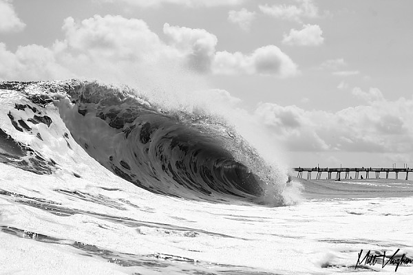 Frothing in KDH, NC. United States, Empty Wave photo