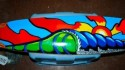 Surf Art one of my sector 9 decks that i used paint