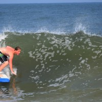 Goofy foot love, OCMD July 1, 2015. Delmarva, Surfing photo