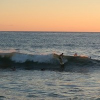 Sunset nugget. United States, Surfing photo