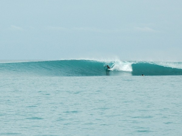 Lagundri Bay, Nias Best wave i've surfed